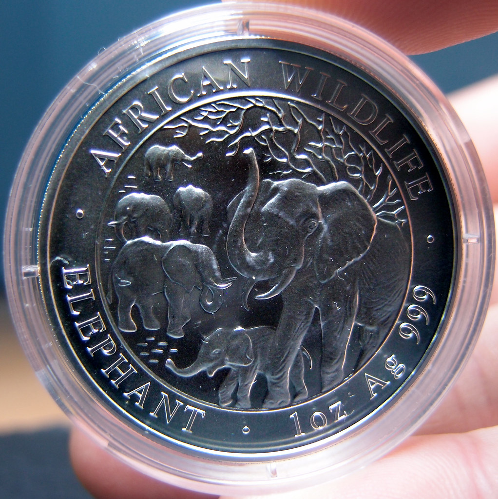 """Colección de onzas de plata """"Somalian African Wildlife""""  10276792004_be7daaf0b0_b"""