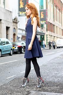 Zara Lace up heels (4)