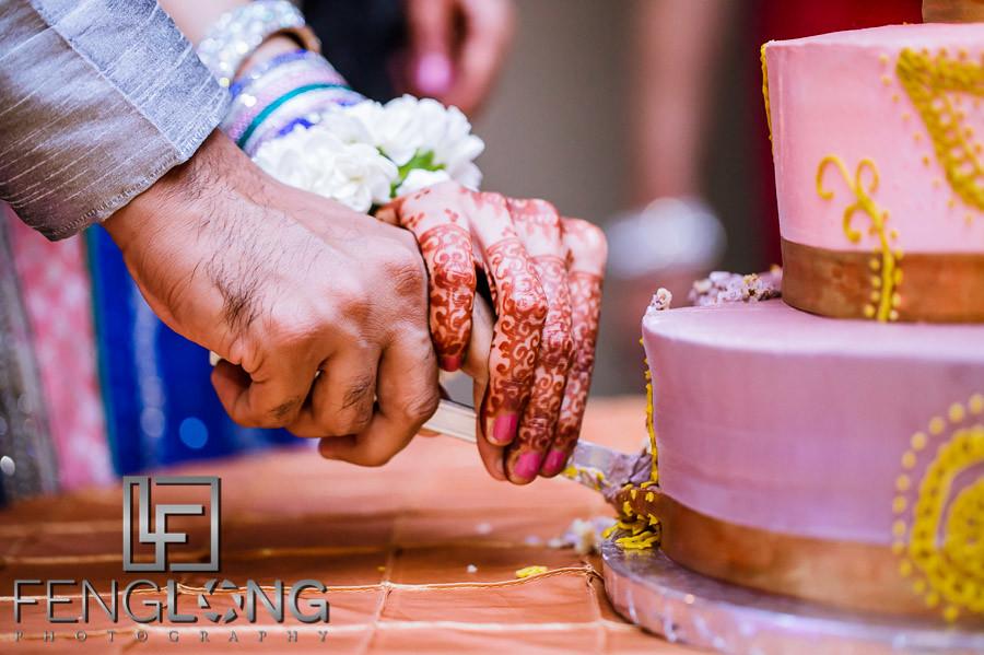 Cake For Mehndi Ceremony : Full wedding zeenat & ayaz's mehndi night at monarch ballroom