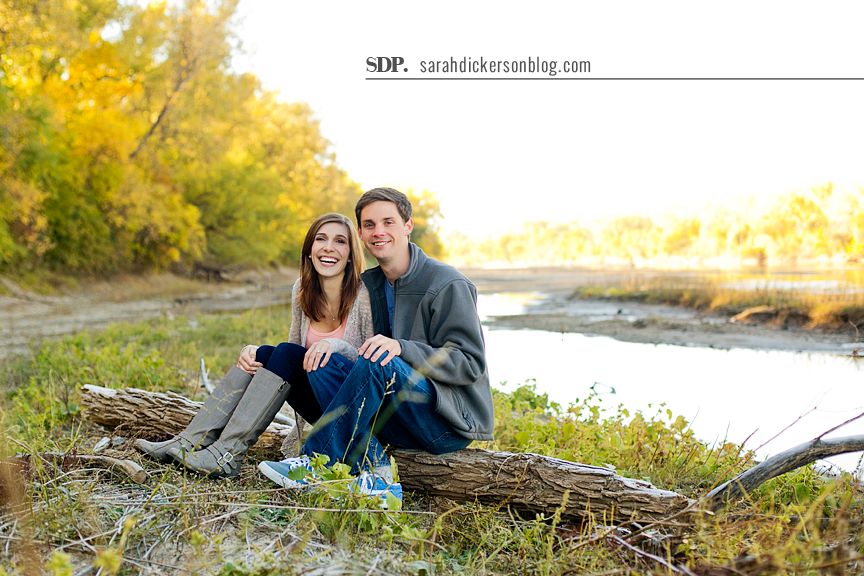 Manhattan Kansas engagement session
