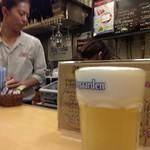 ベルギービール大好き!!ヒューガルデン・ホワイトHoegaarden Witbier@ロンドンパブ 藤沢店