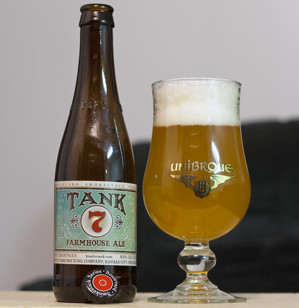 December 14 Boulevard Tank 7 Farmhouse Ale BeerCrank
