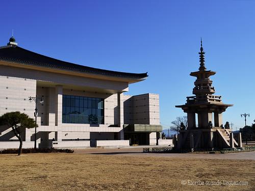 El Museo Museo Nacional de Gyeongju guarda más de 3.000 obras en su interior