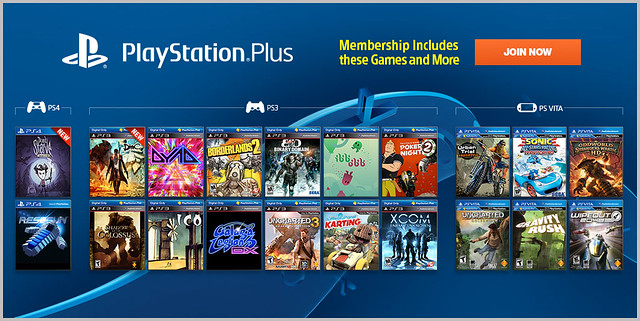 PlayStation Plus Update 1-6-2014