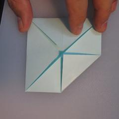 วิธีการพับกระดาษเป็นรูปโบว์ติดกล่องของขวัญ 004