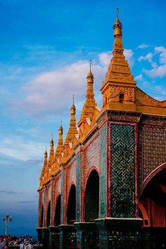 travel sunset vacation architecture temple pagoda burma religion culture buddhism myanmar mm mandalay 2012 mandalayhill sutaungpyeipagoda mandalaytaunghpayar