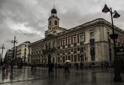 city spain rain dramaticlandscape landscape water clouds light airelibre palace madrid palacio canon