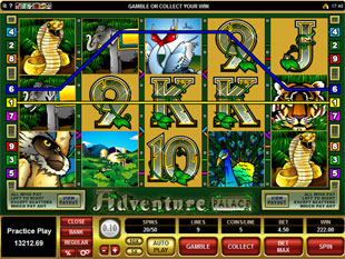 Adventure Palace Free Spins Prize