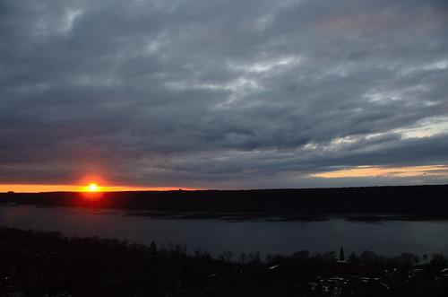 Bronx Sunset: January 6, 2014