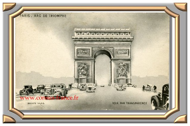 PARIS . ARC DE TRIOMPHE