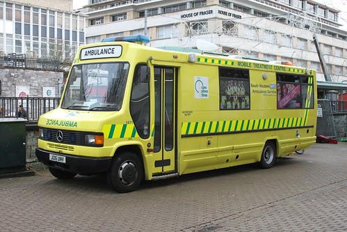 Ambulance station.