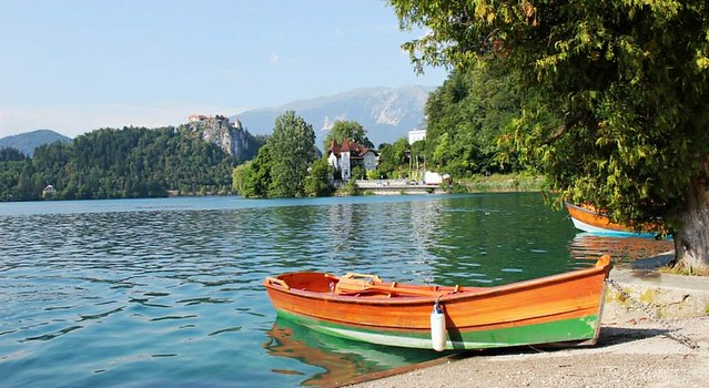 Bled lago