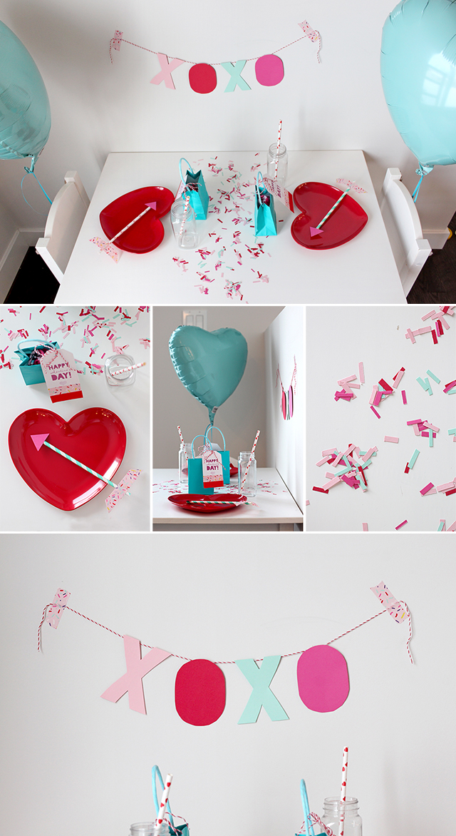 Valentine's Day Craft Table Kids