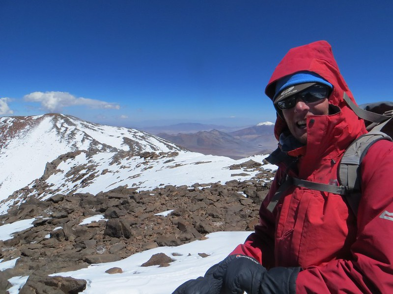 The UPAME summit (6800m) on Pissis
