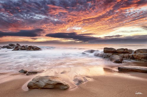 africa seascape nature sunrise landscape rocks south calm durban umhlanga photographyforrecreationeliteclub
