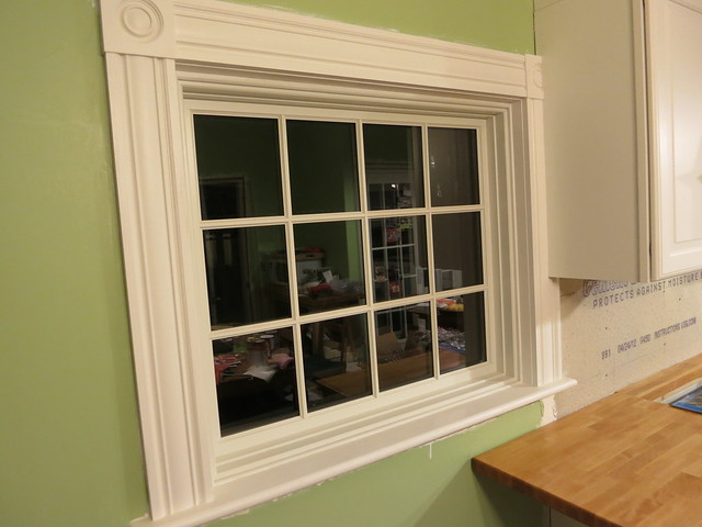 Kitchen Window Trim