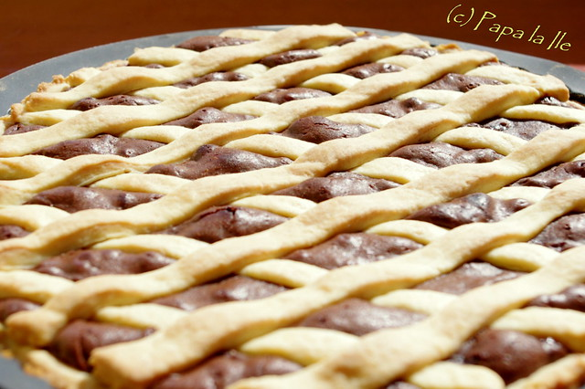 Tarta cu ciocolata si nectarine (10)