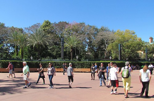 Epcot Flower & Garden Festival 2014 - Pre-Opening Preparations