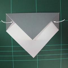 วิธีพับกล่องของขวัญแบบโมดูล่า (Modular Origami Decorative Box) โดย Tomoko Fuse 009
