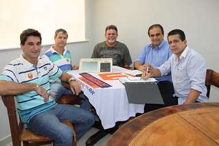 Fábio Palácio, Ronaldo Peres, Vanderlei Vítor, Drs Ronaldo Dias e David Martins debatem as Eleições 2014