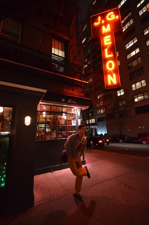 JG Melon, las mejores hamburguesas de Nueva York