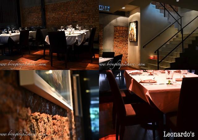 Leonardo 39 s dining room wine loft jalan bangkung for Leonardo s dining room