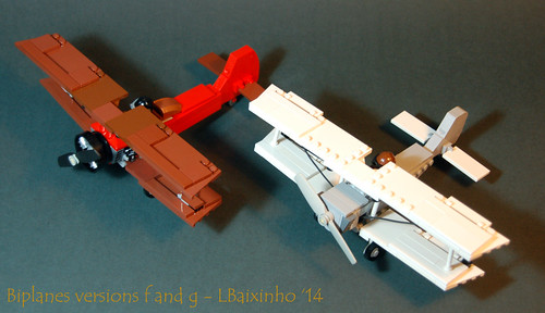 Biplanes versions f and g