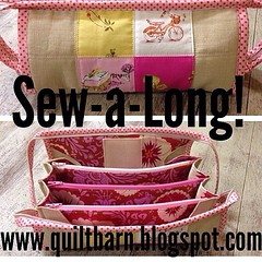 Excellent idea @thequiltbarn for a #sewtogethersewalong ! I got the pattern and have been meaning to make one.