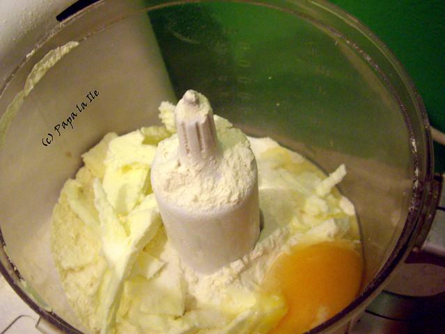Tarta cu praz si ciuperci (2)