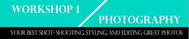 Spark Sessions photography workshop