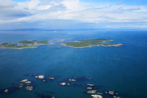 Discovery Island Marine Park, Haro Strait, Victoria, Vancouver Island, British Columbia, Canada