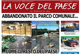 Noicattaro. Prima pagina n. 11-2014 front