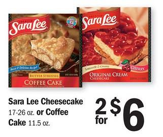 1 1 Sara Lee Frozen Sweet Goods Printable Coupon 2 00