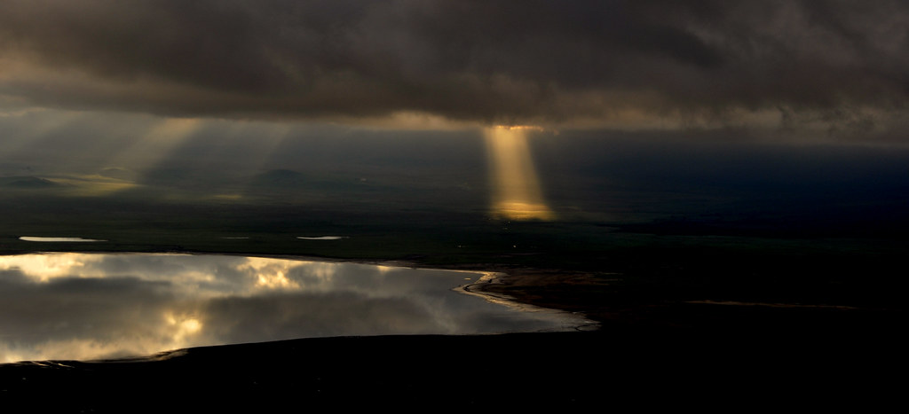 Majestic sunrise from Ngorongoro Serena Lodge