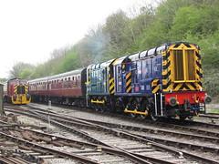 08822 & 09004 at The Avon Valley Railway Diesel Gala 12/04/14