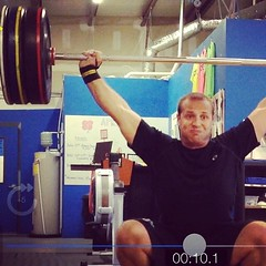 Sir Richard Heycock | 10# Snatch PR. #gains #cfoib #crossfit