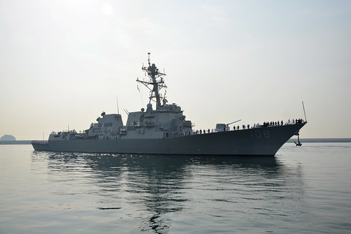 USS Wayne E. Meyer Visits Busan During Western Pacific Deployment