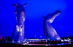 At Helix Park between Falkirk and Grangemouth, Scotland just off the M9 motorway, the tallest sculptures in the country at 30m tall. ...