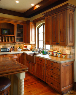 Jack Rosen Custom Kitchens - Rustic Traditional Kitchen