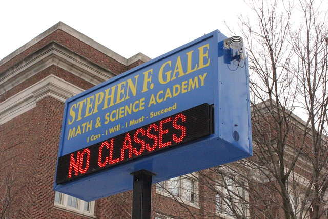 Gale School: No Classes