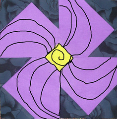 Violet Block - Quilting Design Idea