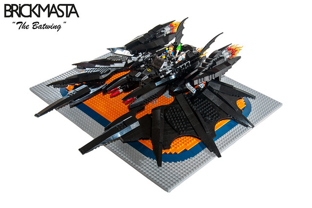 The Batwing - Sideview