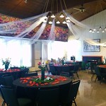 Decor for the Ridvan celebration in Wilmette. It was wonderful.