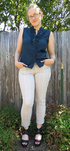 Ruffled Blouse Redo