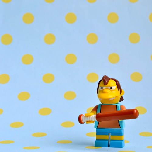 The Simpsons Minifigures: Nelson