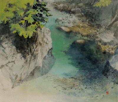 ■第二回 牧野 環 日本画展■−甘き水を探しに−