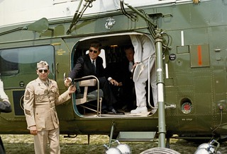 President John F. Kennedy En Route to the Commencement Ceremony at the United States Naval Academy, Annapolis, Maryland
