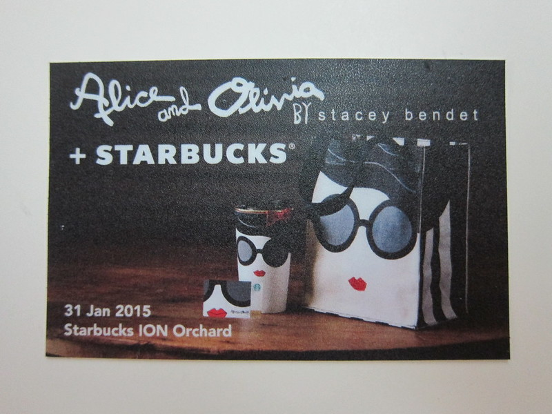 Starbucks alice + olivia Design Collection - Redemption Card