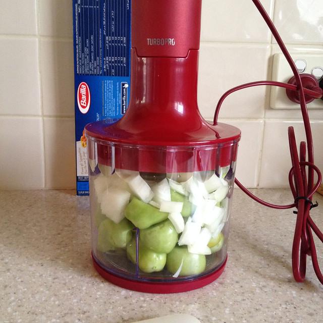 02.Feb.15 Green Tomato Pesto