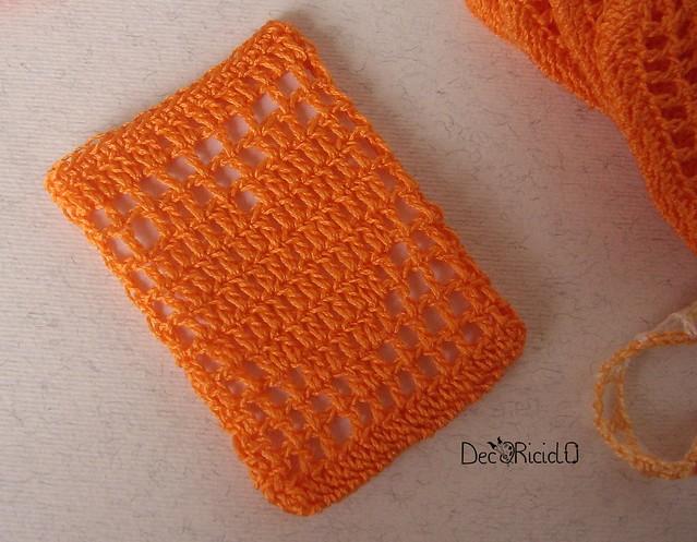 ecospugnette viso arancione 3